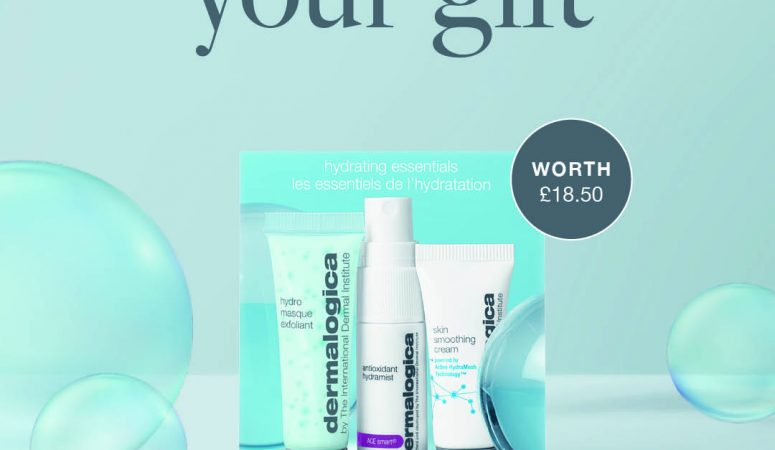 FREE* hydrating essentials gift worth £18.50
